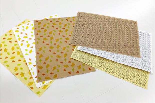 2016年9月24日(土)体験入学は 包装紙のパターンデザインをしました。